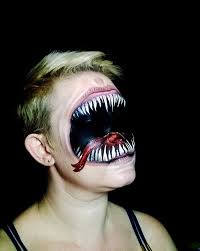 make up artist paints the most mind fucking scary halloween masks
