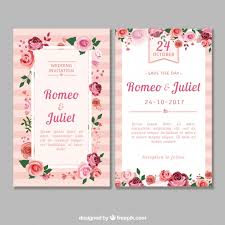 wedding invitation design wedding invitation vectors photos and psd files free