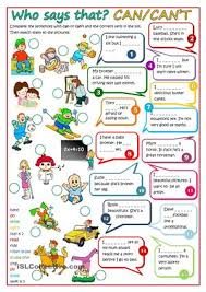 a worksheet to practise modal verbs can students have to