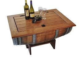 Wine Barrel Bar Table Coffee Tables How To Make A Whiskey Barrel Pub Table Wine Barrel