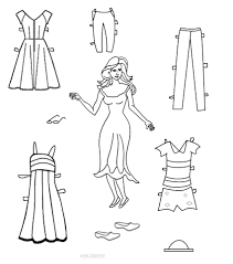 printable paper dolls free printable paper doll templates cool2bkids