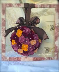 crafting ideas from sizzix uk home decor a beatiful 3d rose ball