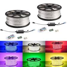 Outdoor Led Light Strips 20 Ft Rgb 5050 Outside Led Strip Light Kit Ip65 Led Hula Hoops