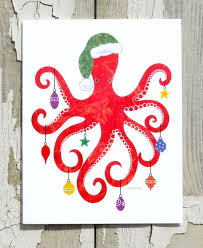 nautical christmas cards best 25 octopus card ideas on cards names