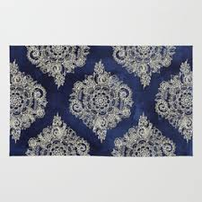 Floral Pattern Rugs Rugs Society6
