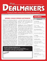 dealmakers magazine december 19 2014 by the dealmakers magazine