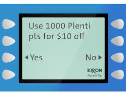 exxon and mobil and the plenti rewards program plenti