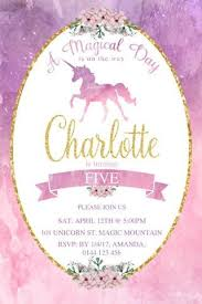 25 unique unicorn birthday invitations ideas on pinterest