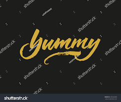 cooking lettering designs print web stock vector 458166400