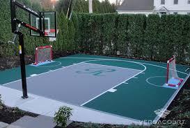 backyard basketball court flooring small backyard basketball court with logo backyard idea u0027s