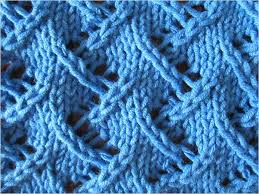 zig zag knitting stitch pattern zig zag lace stitch pattern video tutorial and detailed written