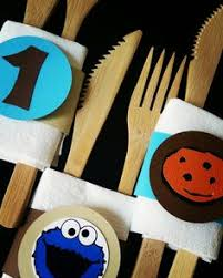 cookie monster centerpiece cookie monster table decor cookie