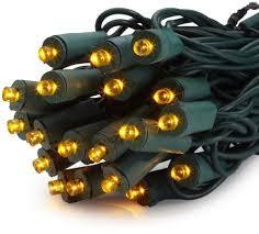 amber mini led christmas lights gki bethlehem lighting 50 light 5mm wide angle flexchange led amber