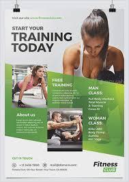 fitness flyer template fitness flyer template