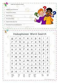 homonyms homophones homographs worksheet free esl printable