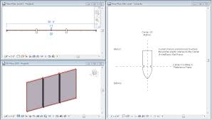 Curtain Wall Mullion Revit Revit Oped Family Templates And View Orientation