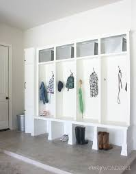 Diy Garage Workbench Plans Pratt Family by Best 25 Built In Lockers Ideas On Pinterest Mudroom Cubbies