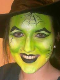 image del for witch face paint green for kids parties adelaide with giant games too