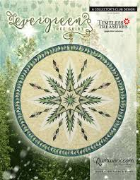 evergreen tree skirt kit by quiltworx bobkatquilts