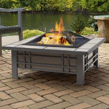 Real Flame Morrison Steel Wood Burning Fire Pit Table Reviews