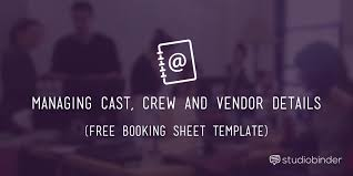 Seeking Cast List The Best Crew List Template For Your Next Production
