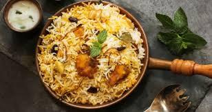 biryani cuisine hyderabadi biryani recipe how to hyderabadi biryani