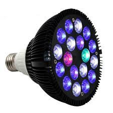 18 aquarium light fixture spider cob 18 watt aquarium light bulb par38 e27 e26 full spectrum
