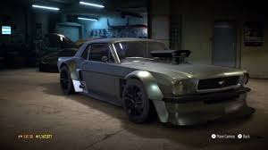 build ford mustang 2015 need for speed 2015 ford mustang 1965 1237 hp build