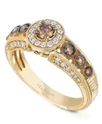 Gold Diamond Wedding Rings by Best 25 Chocolate Diamond Engagement Rings Ideas On Pinterest