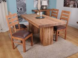 Wooden Dining Room Sets by Solid Wood Round Dining Table And Chairs Best Solid Wood Dining