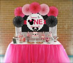 minnie mouse birthday decorations minnie mouse 1st birthday party in party decorations baby minnie