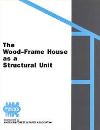 tr 5 the wood frame house as a structural unit