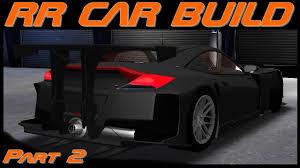 cars honda racing hsv 010 racing rivals car build honda hsv 010 part 2 youtube