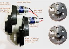 power wheels jeep stage iv speed motors gearboxes for power wheels jeep wranglers