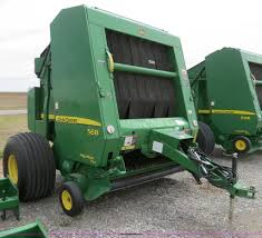 2007 john deere 568 round baler item b4746 sold may 8 a