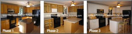 Kitchen Cabinets Refinished Reface Cabinets Before U0026 After Photos Affordable Refacing Cabinets