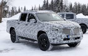2018 mercedes benz x class pickup drops more camo as reveal approaches