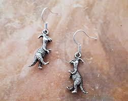 dinosaur earrings dinosaur earrings etsy