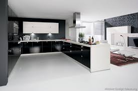 small black modern kitchen interior design