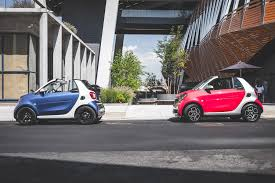 smart car pink first drive 2017 smart fortwo cabrio automobile magazine