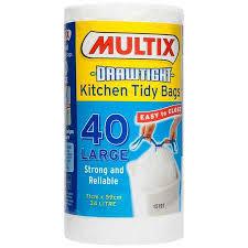 www large multix large kitchen tidy bags 40 pack big w