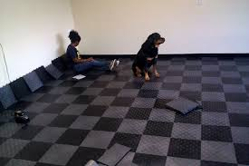 Best Garage Floor Tiles Best Snap Together Garage Flooring Installing Snap Together