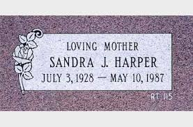 flat headstones for flat monument single 00106 jpg