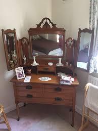 Antique Bedroom Furniture Wardrobe Dressing Table And Wash - Edinburgh bedroom furniture
