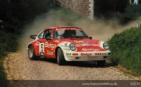 rally porsche 911 porsche rally boucles de spa