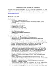 resume examples kitchen manager resume ixiplay free resume samples