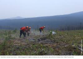 Wildfire Parks Canada by News Article Wa Team Helps Fight Canadian Wildfire