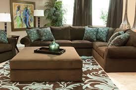 chocolate living room sala chocolate y azul turquesa proyectos que intentar