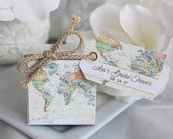 Wedding Favors Box by Personalized World Map Favor Box My Wedding Favors
