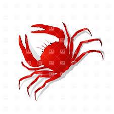 red crab vector image 20912 u2013 rfclipart